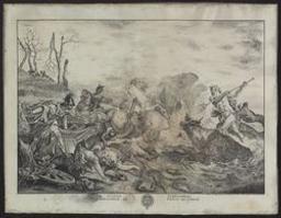 The death of Hippolyte Graphic   De la Croix (active ca. 1778). Illustrateur