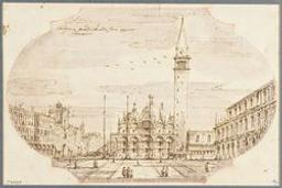 View of the basilico di San Marco in Venice Graphic | Unknown Italian. Illustrateur