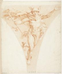 Mercury Graphic | Raphaël (1483-1520). Illustrateur
