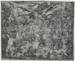 The temptation of St Anthony Graphic   Callot, Jacques (1592-1635) - peintre. Illustrateur