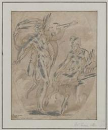 The musical contest between Apollo and Pan Graphic | Parmigianino (1504-1540) - Il. Illustrateur