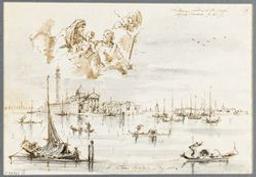 View of the church of San Giorgio Maggiore in Venice Graphic | Unknown Italian. Illustrateur
