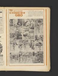 De fotoroman van Eddy Merckx in de Giro | Willems, Honoré. Contributeur, collaborateur